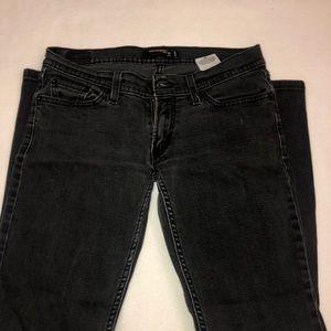 Levi's Jeans - low rise black levi jeans